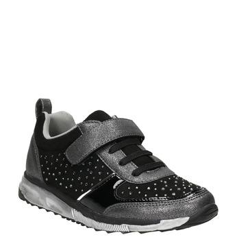 Mädchen-Sneakers mit Steinchen mini-b, Schwarz, 329-6295 - 13
