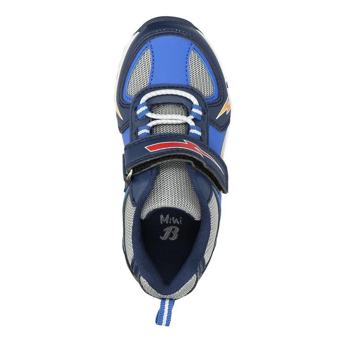 Knaben-Sneakers mit Print mini-b, Blau, 211-9183 - 26