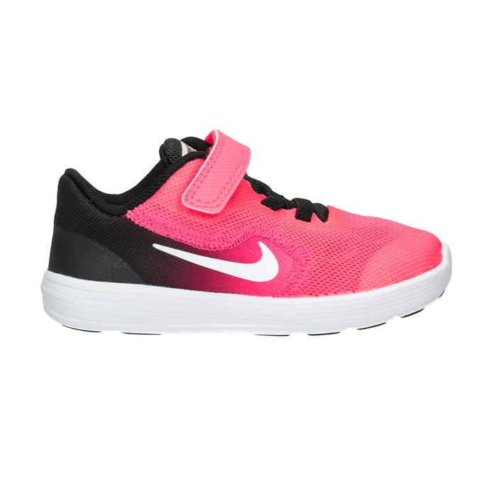 Rosa Mädchen-Sneakers nike, Rosa, 109-5132 - 26