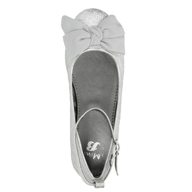 Silberne Mädchen-Ballerinas mini-b, Silber , 329-1286 - 15