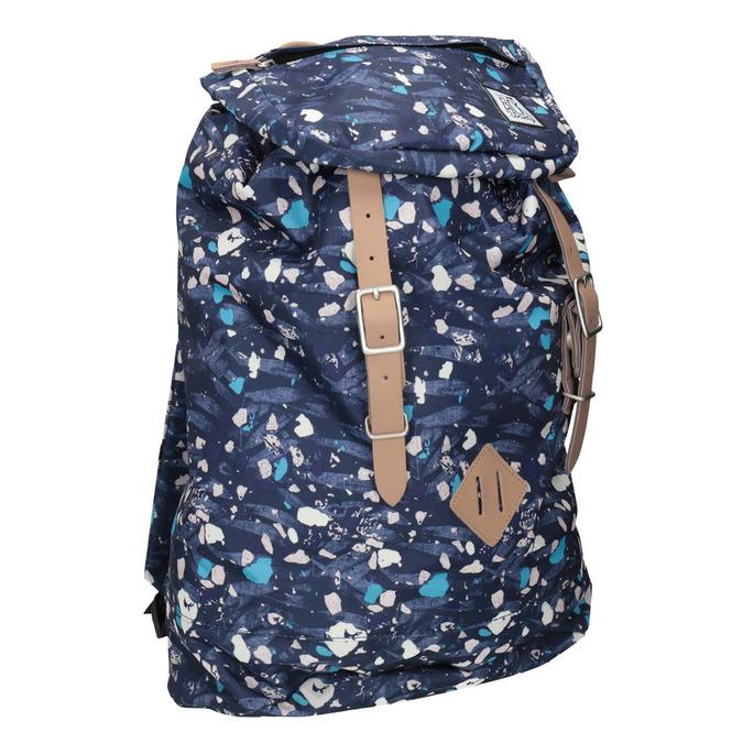 Rucksack mit farbenfrohem Muster, Blau, 969-9076 - 13