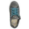 Kinder-Sneakers aus Leder mit Zwecken mini-b, Grau, 323-2173 - 26
