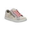 Kinder-Sneakers aus Leder mit Zwecken mini-b, Rosa, 323-5173 - 13