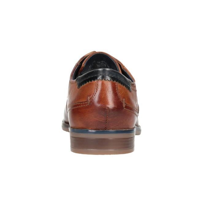 Legere Lederhalbschuhe bugatti, Braun, 826-3008 - 16