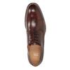 Braune Herrenhalbschuhe aus Leder bata, Braun, 826-4681 - 17