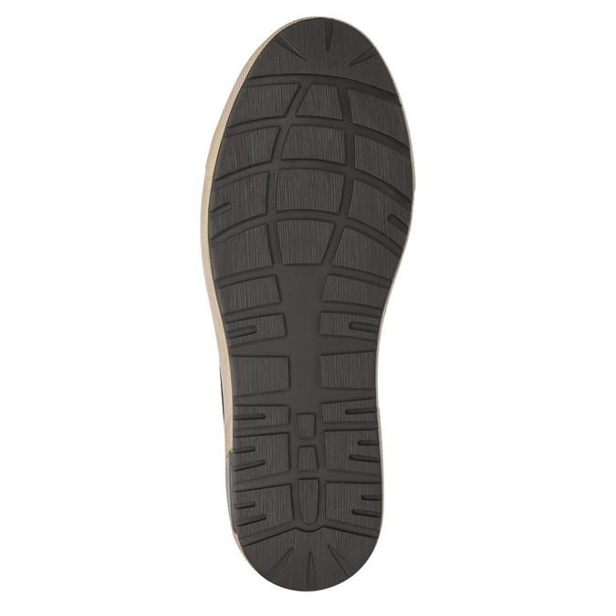 Knöchelhohe Herren-Sneakers bata, Braun, 846-4651 - 19