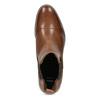 Braune Chelsea Boots aus Leder bata, Braun, 594-4636 - 17