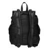 Schwarzer Rucksack mit Taschen bata, Schwarz, 969-6163 - 16