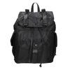 Schwarzer Rucksack mit Taschen bata, Schwarz, 969-6163 - 26