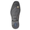 Braune Lederhalbschuhe im Derby-Look fluchos, Braun, 824-4442 - 17