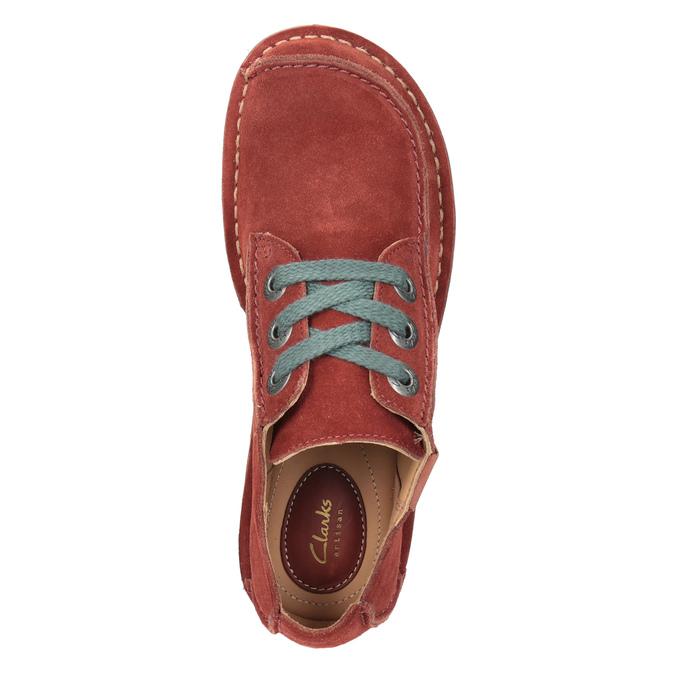Legere Damenhalbschuhe clarks, Rot, 623-5033 - 15