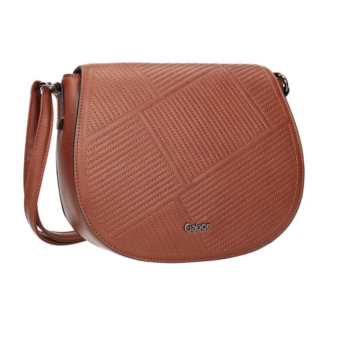 Damenhandtasche mit Steppung gabor-bags, Braun, 961-3055 - 13