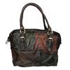 Lederhandtasche im Patchwork-Stil a-s-98, mehrfarbe, 966-0062 - 26