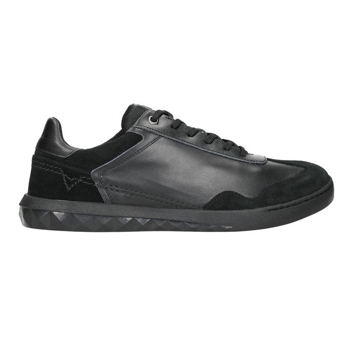 Herren-Sneakers aus Leder diesel, Schwarz, 804-6626 - 26