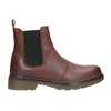 Damen-Chelsea-Boots aus Leder bata, Braun, 596-3680 - 26