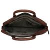 Leder-Herrentasche mit Steppung, Braun, 964-4139 - 15