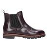 Weinrote Chelsea Boots aus Leder bata, Rot, 596-5657 - 26