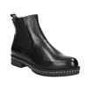 Damen-Chelsea-Boots mit massiver Sohle bata, Schwarz, 596-6677 - 13