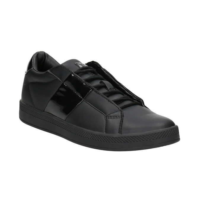 Schwarze Damen-Sneakers, Schwarz, 501-6171 - 13