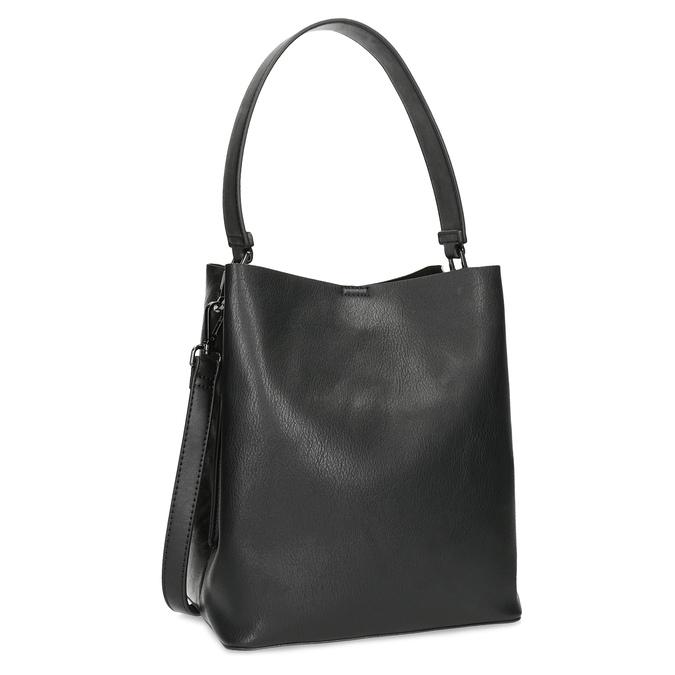 Schwarze Hobo-Damenhandtasche bata, Schwarz, 961-2173 - 13