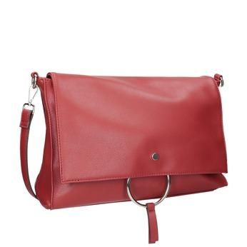 Rote Clutch mit Kettchen bata, Rot, 961-5164 - 13