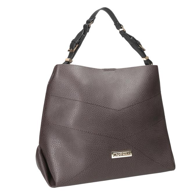 Braune Damenhandtasche cafe-noir, Braun, 961-4096 - 13