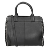 Damenhandtasche aus Leder fredsbruder, Schwarz, 963-6002 - 16