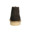 Damen-Desert-Boots aus Leder bata, Braun, 593-4608 - 17