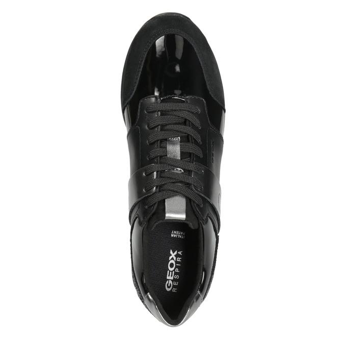 Schwarze Damen-Sneakers geox, Schwarz, 621-6045 - 15