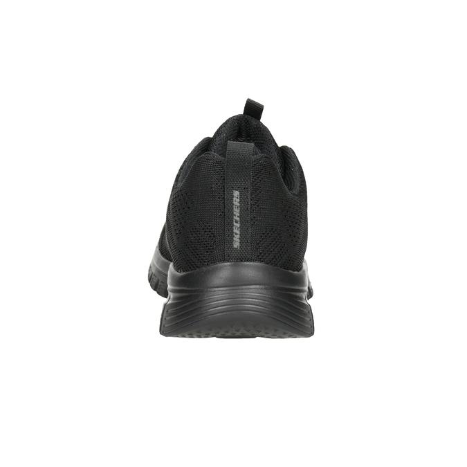 Schwarze, sportliche Damen-Sneakers mit Perforation skechers, Schwarz, 509-6318 - 16