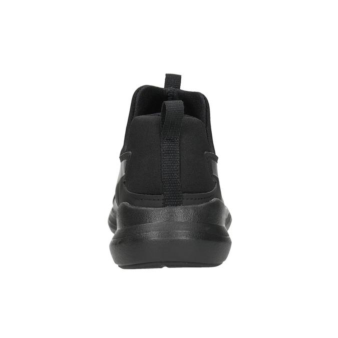 Schwarze Damen-Sneakers ohne Schnürung puma, Schwarz, 509-6200 - 16