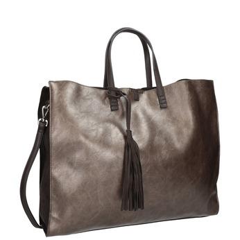 Damenhandtasche mit Quaste bata, Braun, 961-8200 - 13