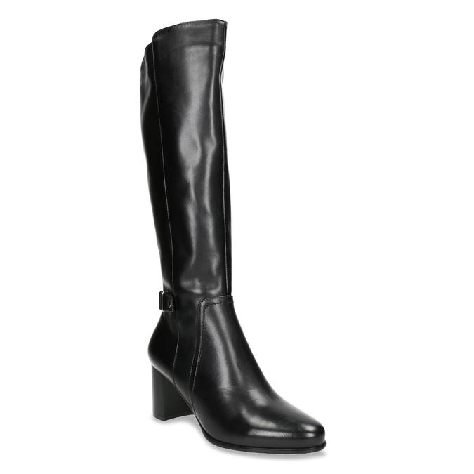 Stiefel mit stabilem Absatz bata, Schwarz, 694-6638 - 13