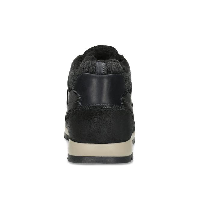 Herren-Winter-Sneakers bata, Schwarz, 846-6646 - 15