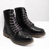 Damenstiefeletten aus Leder bata, Schwarz, 594-6681 - 18