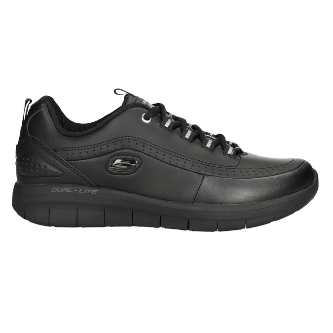 Schwarze Damen-Sneakers skechers, Schwarz, 501-6317 - 26