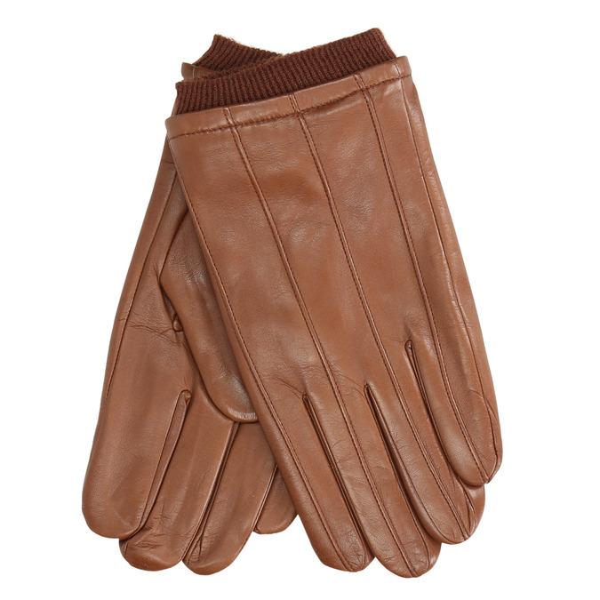 Braune Lederhandschuhe bata, Braun, 904-3117 - 13