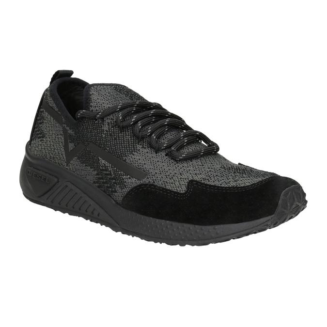 Sportliche Damen-Sneakers diesel, Schwarz, 509-6760 - 13