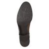 Braune Lederstiefel bata, Braun, 596-4665 - 19