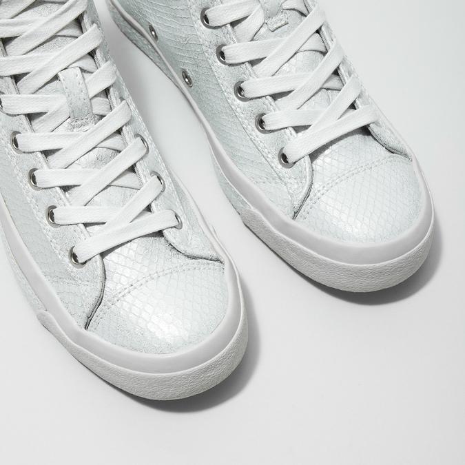 Weiße, knöchelhohe Sneakers diesel, Weiss, 501-6743 - 14