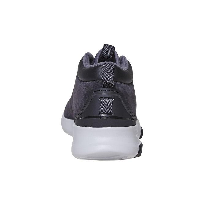 Herren-Sneakers aus Leder adidas, Schwarz, 803-6202 - 17