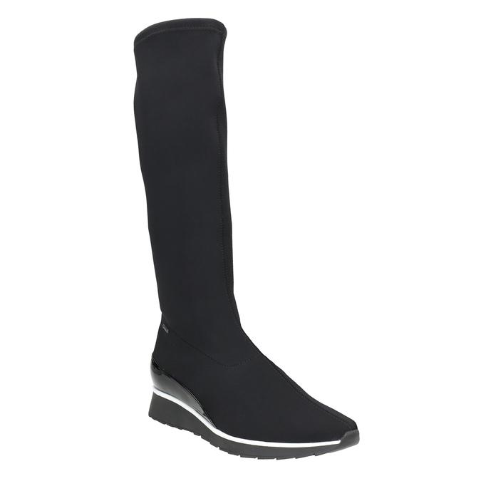 Textil-Stiefel für Damen hogl, Schwarz, 699-6032 - 13
