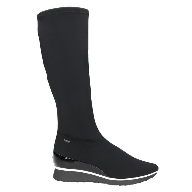 Textil-Stiefel für Damen hogl, Schwarz, 699-6032 - 26