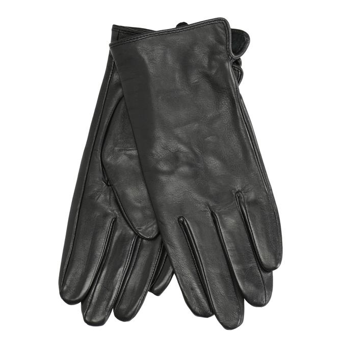 Damenhandschuhe aus Leder, Schwarz, 904-6129 - 13