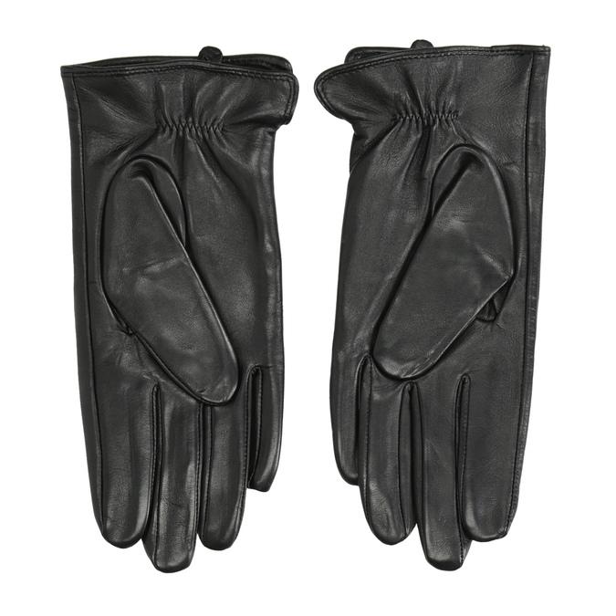 Damenhandschuhe aus Leder, Schwarz, 904-6129 - 16