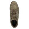 Knöchelhohe Sneakers aus geschliffenem Leder diesel, Braun, 803-4629 - 17
