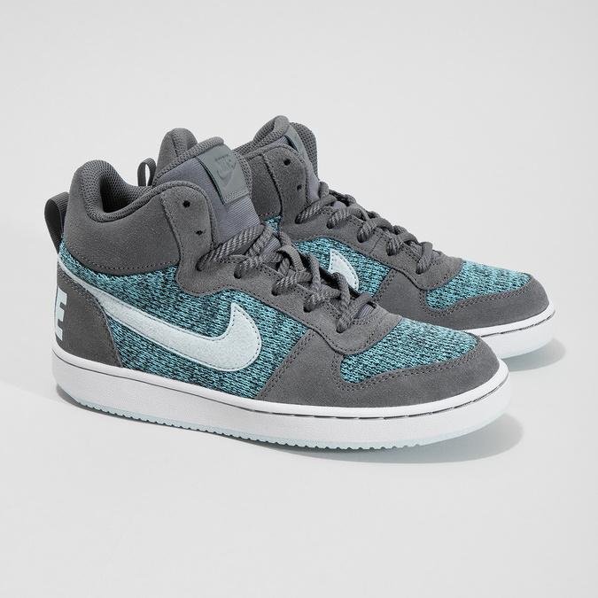 Knöchelhohe Kinder-Sneakers nike, Grau, 401-2108 - 26