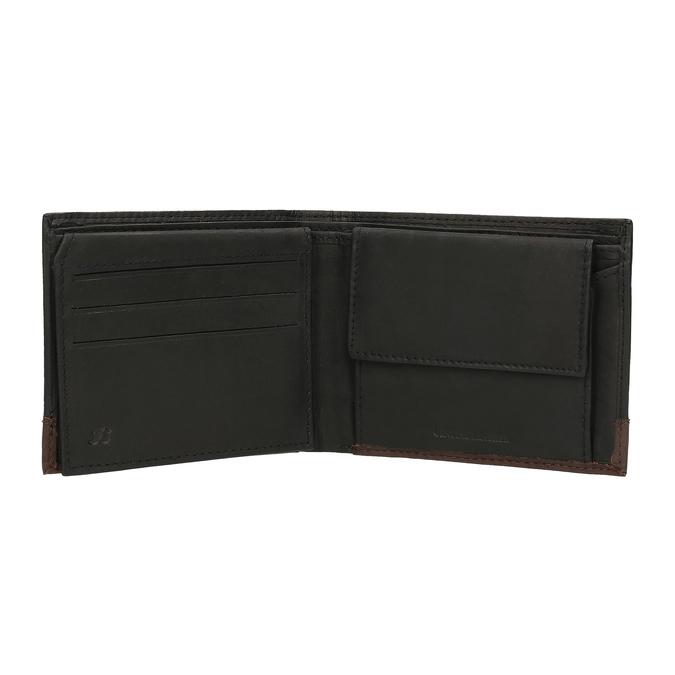 Herren-Geldbörse aus Leder, Schwarz, 944-6149 - 15