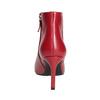 Rote Lederstiefeletten bata, Rot, 794-5651 - 15