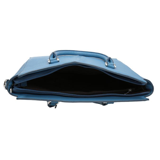 Blaue Damenhandtasche bata, 961-9845 - 15